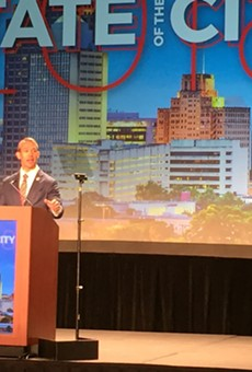 Mayor Ron Nirenberg delivers his State of the City address.
