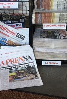 Bilingual Newspaper La Prensa Shifting to Web-only Format