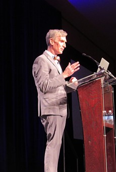 Bill Nye Speaks of Texas' Environmental Potential, Raising Standards for Women at Planned Parenthood Luncheon