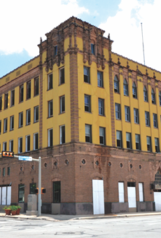 The San Antonio Light building once housed one of the city's daily newspapers. Now it's being gutted to make way for a tech firm.