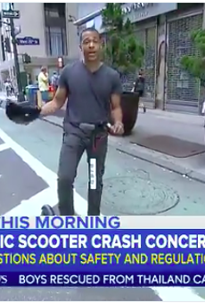 Recent news reports like this one have aired a clip of a San Antonio woman getting run down by an electric scooter.