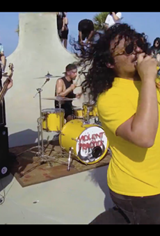 """San Antonio Thrashers Violent Practice Just Put Out The Sickest Video For Their New Track """"Surfin'"""""""