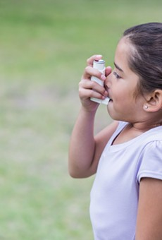 Bexar county's rate for childhood asthma hospitalizations are nearly double that of the state.