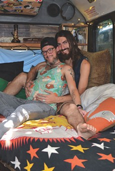 Two Men, a Dog, a Van and a Baby: A San Antonio Couple's Trans Pregnancy Journey