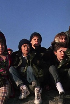 """That's The Goonies in a nutshell: we keep fighting even when it seems like a done deal,"" producer Molly Shalgos said of her decision to do a live script read of he movie to benefit RAICES."
