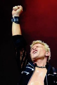 Punk, Fashion Icon Billy Idol is Almost in San Antonio and We're Already Screaming