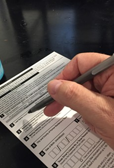 Drinking beer and registering to vote are not mutually exclusive pursuits.