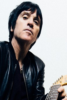 Johnny Marr, formerly of The Smiths, played Monday night at Paper Tiger.