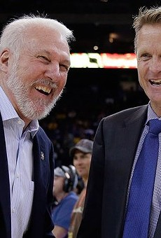 Steve Kerr Thinks Beto O'Rourke Should Run for President in 2020 with Gregg Popovich as His Running Mate