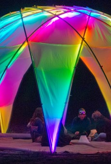 Dazzling Installations, Roving Performers, Live Tattooing and the Ghosts of Hemisfair's Past Converge at Luminaria's Tricentennial Edition