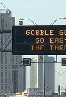 TxDOT Road Signs Using 'Dad Humor' to Urge San Antonio Drivers to Slow Down at Thanksgiving