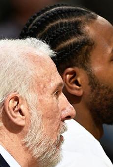 Kawhi Leonard Said It's 'Funny' That Gregg Popovich Said He Wasn't a Leader with the San Antonio Spurs