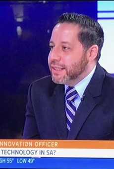Jose De La Cruz during a recent television appearance.