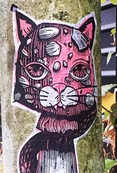 New Dock Space Gallery Show Spotlights Work of French Street Artist Jessica Pliez