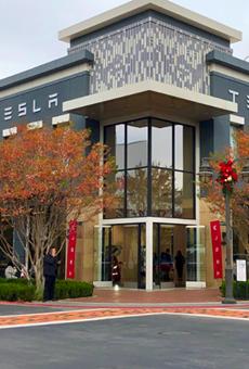 Elon Musk's Car Company Tesla Switches on a Second San Antonio Location