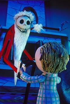 Slab Cinema Screening Tim Burton's Beloved Holiday Favorite The Nightmare Before Christmas