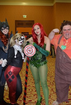Cosplayers strike a pose at November's Celebrity Fan Fest.
