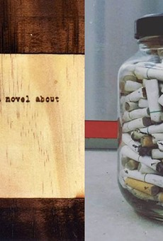 Works by Sarah Francis Hollis (left) and Taylor Maupin (right)