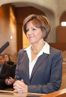 City Manager Sheryl Sculley has been the fire union's constant opponent in a long contract dispute with the city.