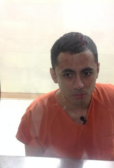 Johnny Joe Avalos shown in prison from a recent news report by KENS5.