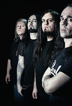 Death metal band Nile explores Egyptian themes in its music.