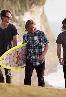 Sort of Secular, But Mostly Christian Rock Band Switchfoot Playing the Aztec Theatre