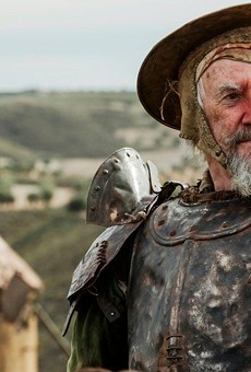 Jonathan Pryce stars in Terry Gilliam's troubled The Man Who Killed Don Quixote.