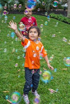 Annual Family-Friendly Bubble Fest Brings Fun to Chris Park