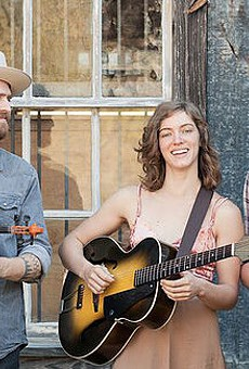 Coming Out Swinging: It Didn't Take Long for Western Swing Trio Big Cedar Fever to Make a Big Noise