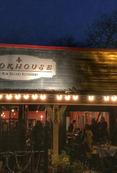 The Cookhouse 720 E Mistletoe Ave, (210) 320-8211, cookhouserestaurant.com Modern Cajun and Creole food is always available at the Cookhouse, and that includes crawfish at times. The menu is seasonal, so be sure to check in to see when crawfish is available here so you can get some of that good good. Photo via Instagram / bill.macfadyen