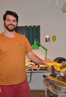 Studio Visits: Iowa Transplant Justin Korver on Tweaking Gender Stereotypes and Finding His Way as a Fabricator