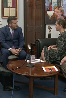 Sen. Ted Cruz and Actress, Activist Alyssa Milano Met in Washington to Talk About Gun Control
