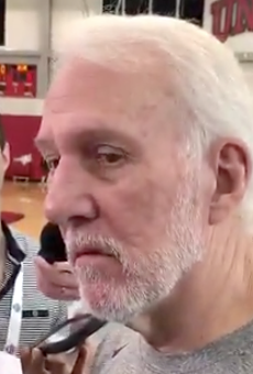 Coach Popovich Defends NBA Commissioner on China and Tears Into Donald Trump (Again)