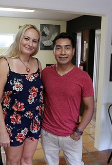 Laura and Rudy Lopez are opening Kapej, a coffee shop/art gallery, at 415 Camden St.