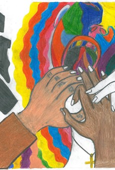 Let Freedom RIng by Amber Medina, winner of the inaugural MLK, Jr. Commission Citywide Artwork Contest