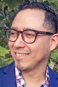 Octavio Quintanilla, current San Antonio Poet Laureate