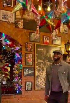 LeBron James, Danny Green and the Los Angeles Lakers Went to Mi Tierra After Beating the Spurs Monday Night