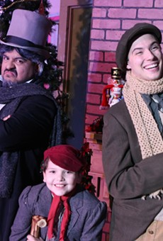 Get in the Spirit with Woodlawn Theatre's Production of A Christmas Carol, the Musical