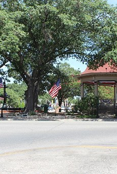 New Braunfels' Main Plaza Bandstand