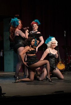 Stars and Garters Burlesque Teaming Up with the Dirty River Dixie Band for a Roarin' '20s Holiday Show