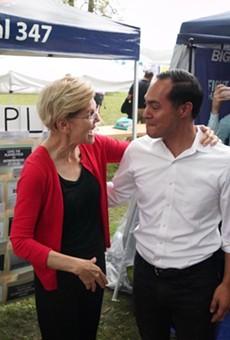 Julián Castro Endorses Elizabeth Warren for Democratic Presidential Nomination