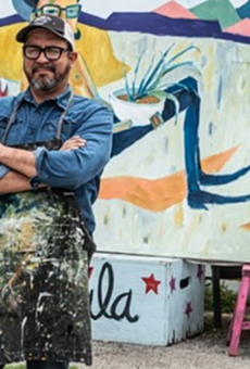 Artist and Burnt Nopal Co-Founder Cruz Ortiz is Leaving San Antonio