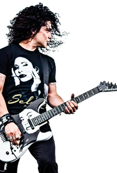 Guitarist Chris Perez is among the performers scheduled for this year's Tejano Music Awards Fan Fair.