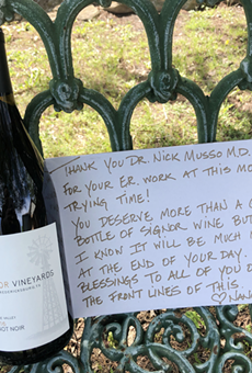 Texas Hill Country Winery Sends Free Bottles of Vino to Frontline Workers During the Pandemic (2)