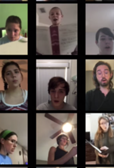Zen Out with Gorgeous Virtual Choral Performance by Trinity University's Chamber Singers (2)