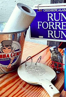 Bubba Gump Shrimp Co. is among Landry's concepts that will be reopening Friday.