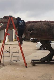 Drive-Thru Dinosaur Show Coming to San Antonio's Freeman Coliseum