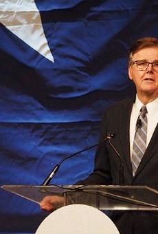 "Lt. Gov. Dan Patrick said he's considering lowering the ""supermajority"" threshold in the Texas Senate."