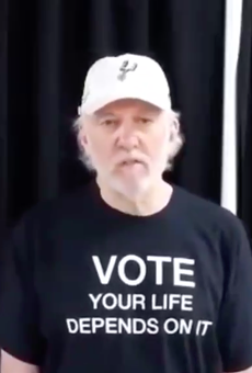 Spurs Coach Popovich Rips Texas Governor and Lieutenant as 'Cowards' for COVID-19 Response