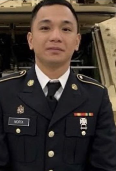 Private Mejhor Morta, 26, was found dead near a lake in the vicinity Fort Hood Tuesday.